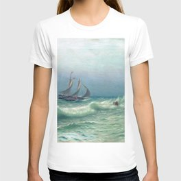 Happyness Of Meeting 1903 By Lev Lagorio | Reproduction | Russian Romanticism Painter T-shirt
