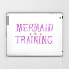 Mermaid in Training Laptop & iPad Skin
