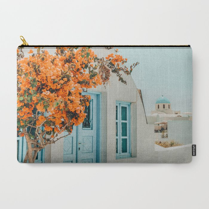Greece_Airbnb_photography_greece_travel_CarryAll_Pouch_by_83_OrangesAr_Art_Shop__Large_125_x_85