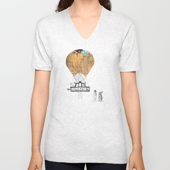 Adventure days  Unisex V-Neck