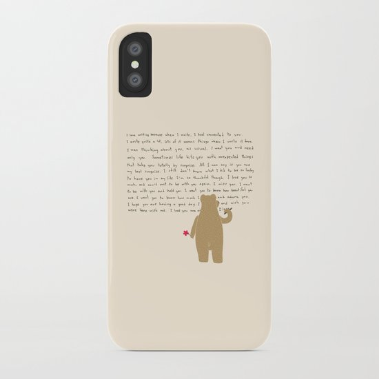 Writing iPhone Case