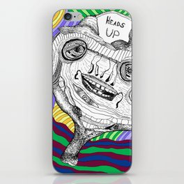 Heads Up iPhone Skin