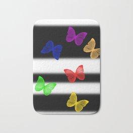 Butterfly butterfies butter fly Bath Mat