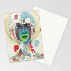 broken - light Stationery Cards