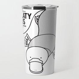 Platypus, Wildlife of Australia Travel Mug
