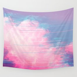 Bold Clouds Wall Tapestry