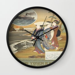 Vintage poster - Nippon Wall Clock