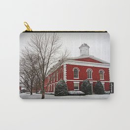 Iron County Courthouse in the Snow Carry-All Pouch
