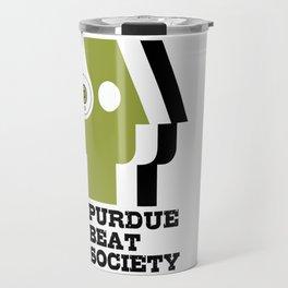 Purdue Beat Society Travel Mug