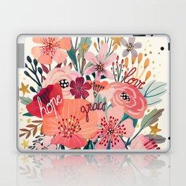 Floral bouquet Laptop & iPad Skin