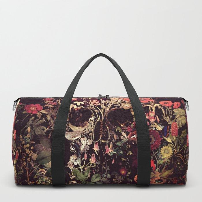 Bloom Skull Duffle Bag