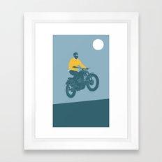 mcqueen 955 Framed Art Print