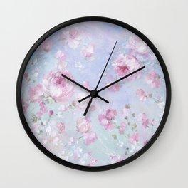 Meadow in Bloom Wall Clock