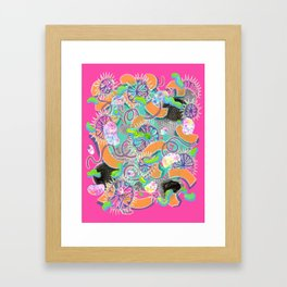 Alien Organism 8 Framed Art Print