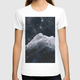 Mountains Attracts Galaxy T-shirt