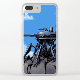 Mountain Sentinel Think Tank Clear iPhone Case