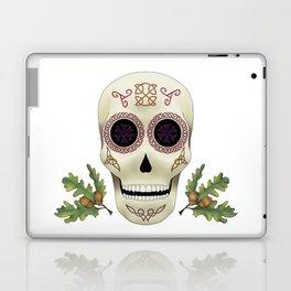 Knotwork Skull Laptop & iPad Skin