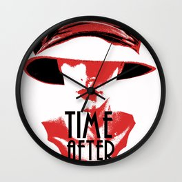 Time After Time Rouge Wall Clock