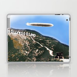 Hollywood Sign and Blimp Laptop & iPad Skin