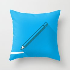 Return to Paper Throw Pillow