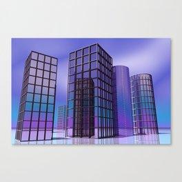 city -w5- Canvas Print