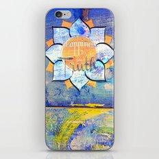 Happy Lotus iPhone & iPod Skin
