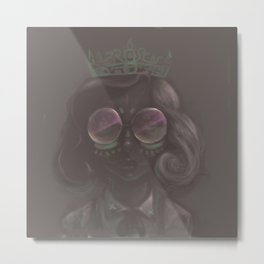 Crown to Glow Metal Print