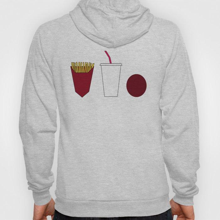 Aqua teen hunger force minimalist  Hoody