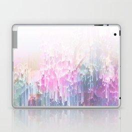 Magical Nature - Glitch Pink & Blue Laptop & iPad Skin