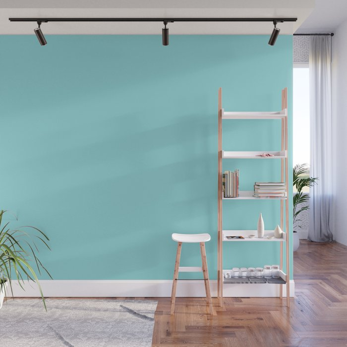 Island Paradise | Pantone Fashion Color Spring : Summer 2017 | Solid Color | Wall Mural
