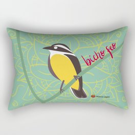 Bicho Feo - Bienteveo Rectangular Pillow