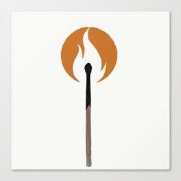 Say Anything - Burn A Miracle Canvas Print