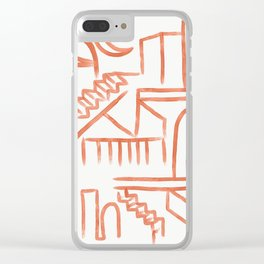 Sicilian Night Clear iPhone Case
