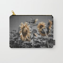 Sunflowers On My Mind Carry-All Pouch