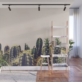 Cactus Party Wall Mural