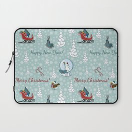 Merry christmas pattern SB13 Laptop Sleeve