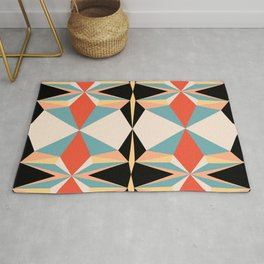 abstract geometric design for your creativity    Rug