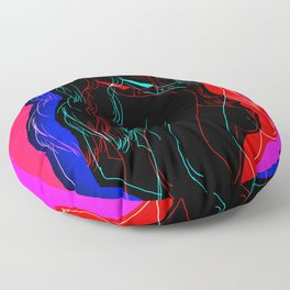 The Neon Demon Floor Pillow