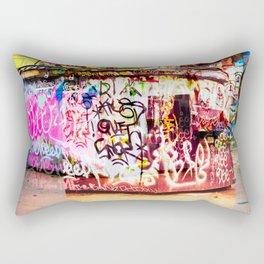 Graffiti Blitz. Rectangular Pillow