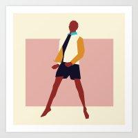 Fashion Dance 3 Art Print