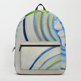 Limeade In A Blue Glass Backpack