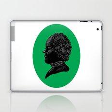 Silhouette of a Gentleman Laptop & iPad Skin