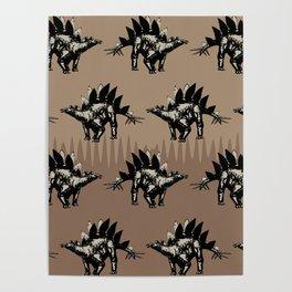ChocoPaleo: Stegosaurus Poster