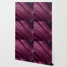 Purple Waves Wallpaper
