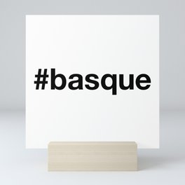 BASQUE Hashtag Mini Art Print