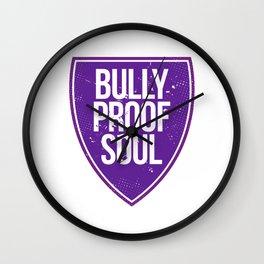 Bully Proof Wall Clock