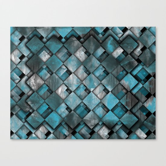 SquareTracts Full Bleed... Canvas Print