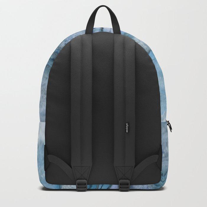 Mystic Stone Aqua Blue Backpack