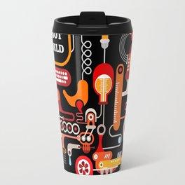 Robot World Travel Mug