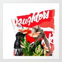 Lock up your Daughters Art Print